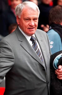 The one and only Sir Bobby Robson