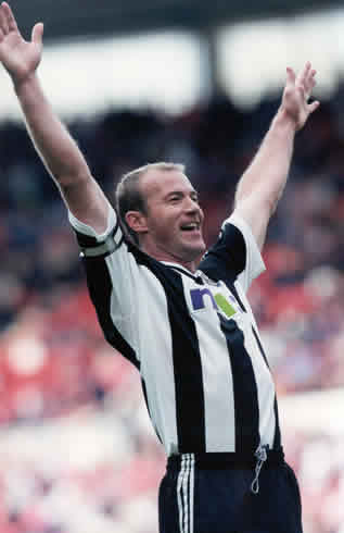 Alan Shearer scored the first time I saw Newcastle
