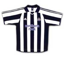 New Newcastle home shirt